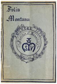 1916 - Folia Montana [Mount Saint Vincent]