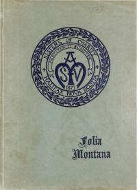 1928 - Folia Montana [Mount Saint Vincent]