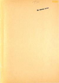 1930 - Folia Montana [Mount Saint Vincent]
