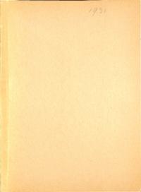 1931 - Folia Montana [Mount Saint Vincent]