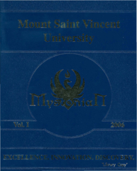 2006 - Mystonian [Mount Saint Vincent University]