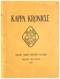 1935 - Kappa Kronicle [Mount Saint Vincent College]