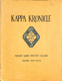 1936 - Kappa Kronicle [Mount Saint Vincent College]