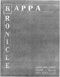 1938 - Kappa Kronicle [Mount Saint Vincent College]