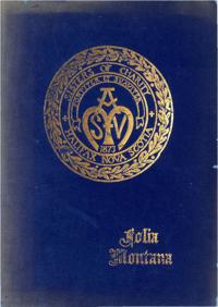1952 - Folia Montana [Mount Saint Vincent Academy]