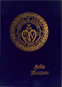 1955 - Folia Montana [Mount Saint Vincent Academy]