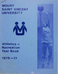 1977 - Athletics Recreation Yearbook [Mount Saint Vincent University]