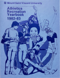 1983 - Athletics Recreation Yearbook [Mount Saint Vincent University]