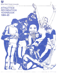 1985 - Athletics Recreation Yearbook [Mount Saint Vincent University]
