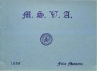 1958 - Folia Montana [Mount Saint Vincent Academy]