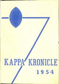 1954 - Kappa Kronicle [Mount Saint Vincent College]