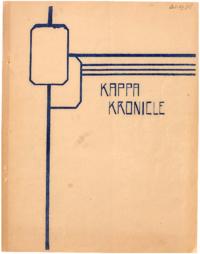 1936 October - Kappa Kronicle Publication [Mount Saint Vincent College]