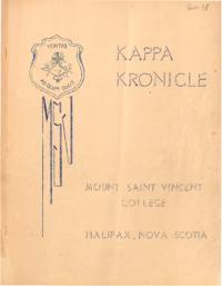 1937 Easter - Kappa Kronicle Publication [Mount Saint Vincent College]