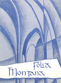 1965 Spring - Folia Montana Publication [Mount Saint Vincent Academy]