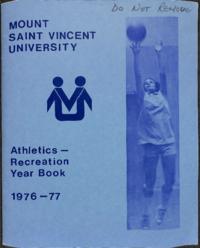 Athletics Recreation Year Book 1976