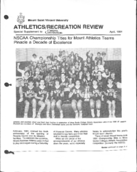 Athletics/Recreation Review 1991