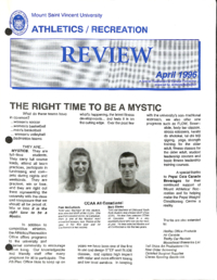 Athletics/Recreation Review 1996