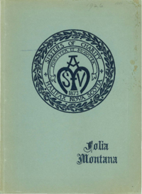 1926 - Folia Montana [Mount Saint Vincent]
