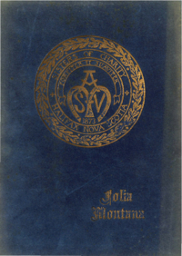 1954 - Folia Montana [Mount Saint Vincent Academy]