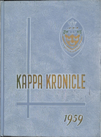 1959 - Kappa Kronicle [Mount Saint Vincent College]