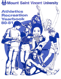 1981 - Athletics Recreation Yearbook [Mount Saint Vincent University]
