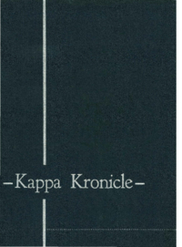 1953 - Kappa Kronicle [Mount Saint Vincent College]