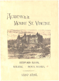 1898 - Academy Mount St. Vincent [Mount Saint Vincent]