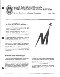 Athletics/Recreation Review 1993