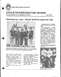 Athletics/Recreation Review 1992