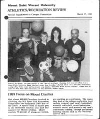 Athletics/Recreation Review 1989
