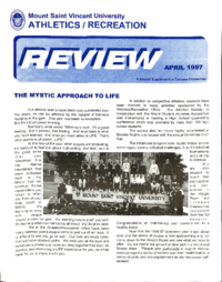 Athletics/Recreation Review 1997