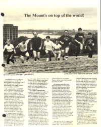 Athletics/Recreation Review 1987