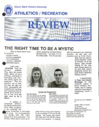 Athletics/Recreation Review 1996